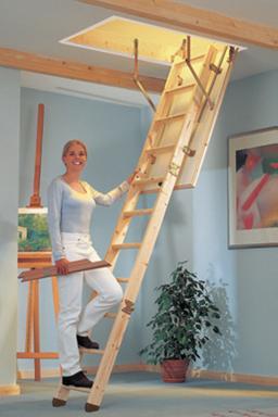 bodentreppe dolle clickfix 76 120 x 60 mit handlauf u 0 49 w m k blendleisten ebay. Black Bedroom Furniture Sets. Home Design Ideas