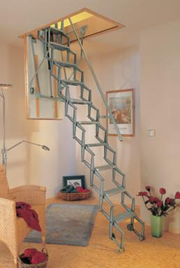 bodentreppe speichertreppe treppe dolle mini 88 x 70 cm blendleisten ebay. Black Bedroom Furniture Sets. Home Design Ideas